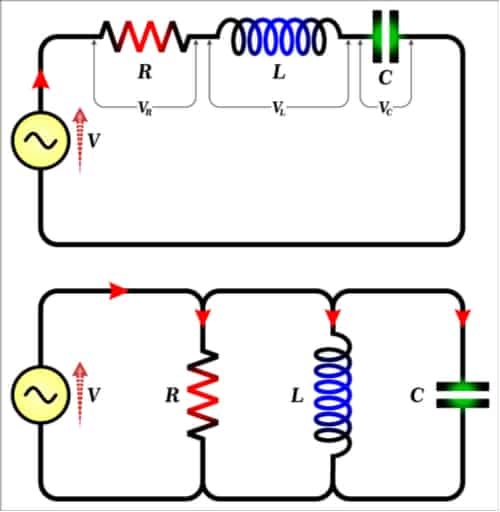 RLC circuit analysis