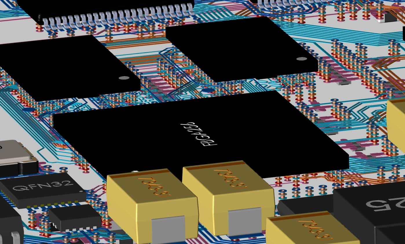 3D layout of PCB in Allegro PCB Designer