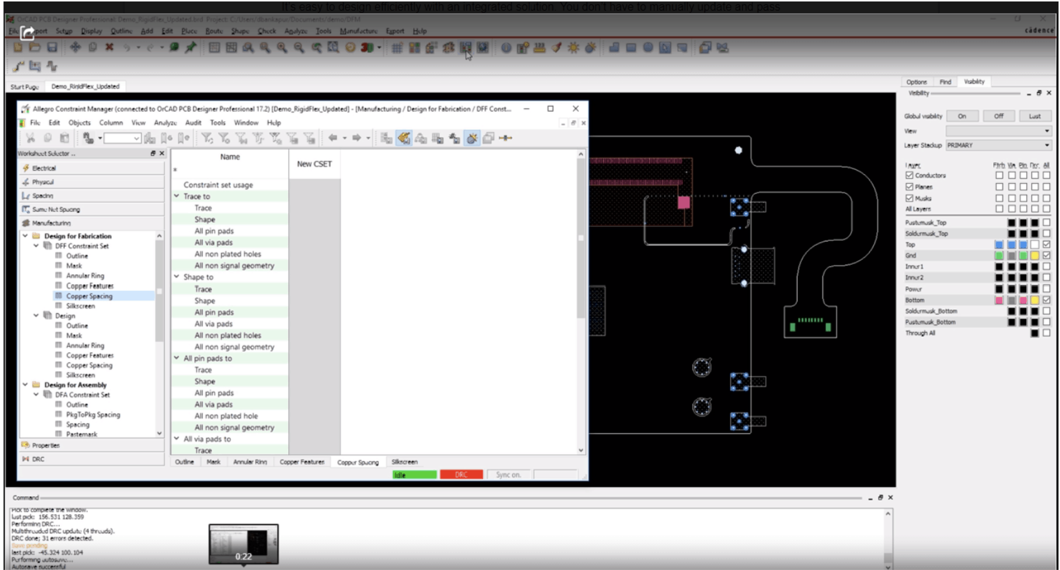 PCB design software