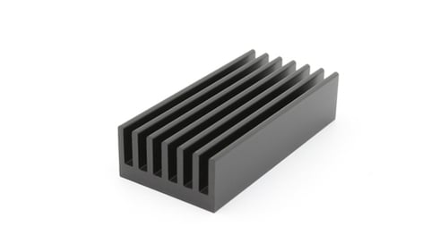 A heatsink, used for thermal management