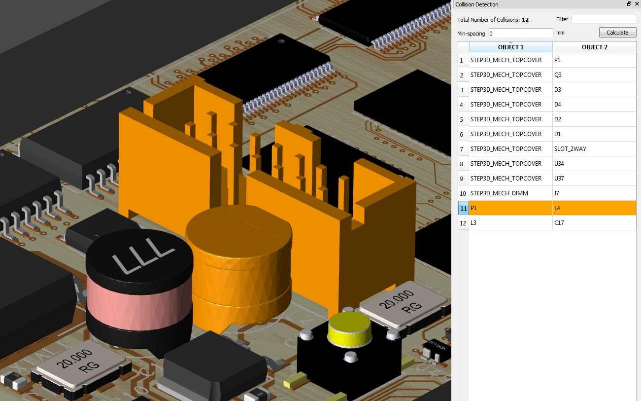 Using the 3D viewer in Allegro for design rule checking in PCB layout
