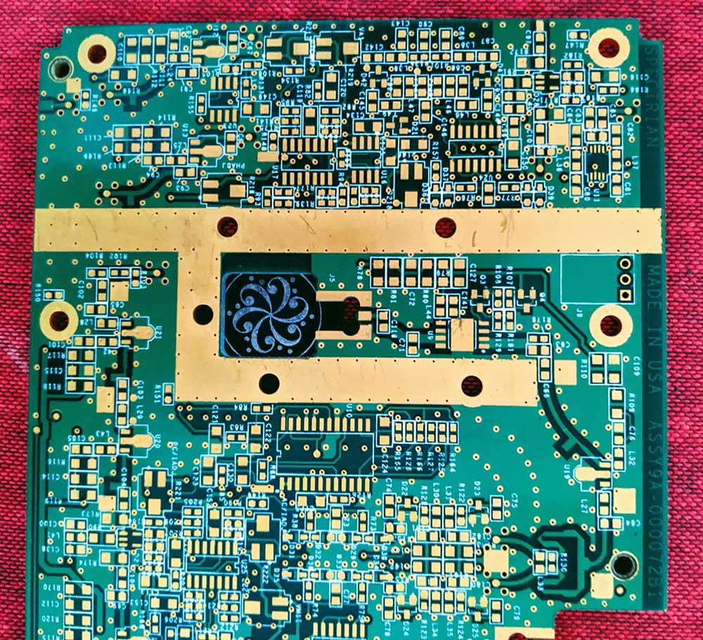 Analog traces on a circuit board