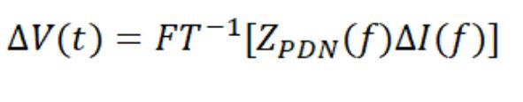 Inverse Fourier transform of Ohm's law