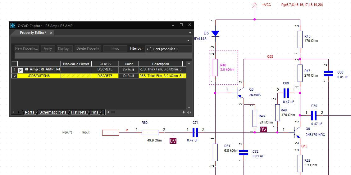The property editor in Cadence's Allegro Design Entry CIS tools