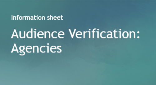 Audience Verification for Agencies