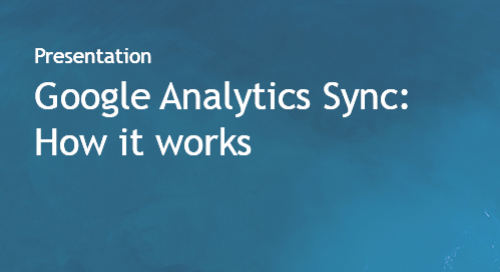 Google Analytics Sync - How it Works