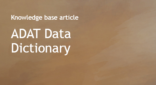 AllDomainsAllTopics - ADAT - Data Dictionary - Bombora