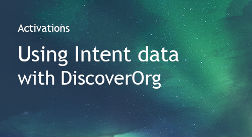 DiscoverOrg - Partner Information Sheet