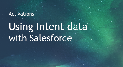 Salesforce - Partner Information Sheet