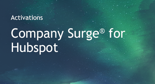 Company Surge® for HubSpot
