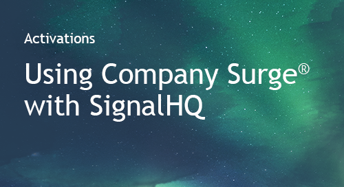 SignalHQ - Partner Information Sheet