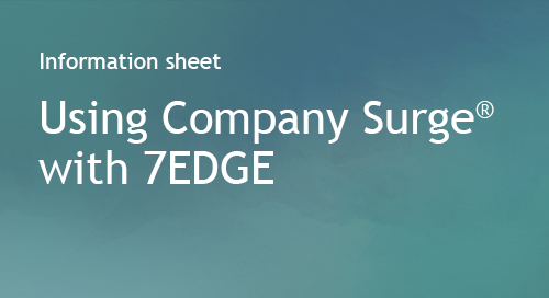 7EDGE - Partner Information Sheet