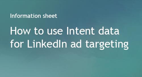 Company Surge® for LinkedIn Ad Targeting