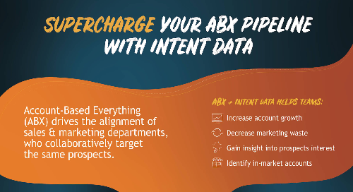 Supercharge your ABX with Intent data [Infographic]