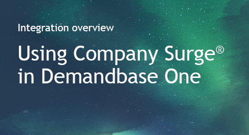 Demandbase - Partner Information Sheet