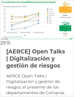 [AERCE] Open Talks | Digitalización y gestión de riesgos