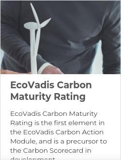 EcoVadis Carbon Maturity Rating