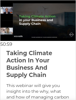 Taking Climate  Action In Your Business And Supply Chain