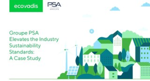 Groupe PSA Elevates Industry Sustainability Standards: A Case Study