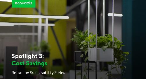Spotlight 3: Cost Savings