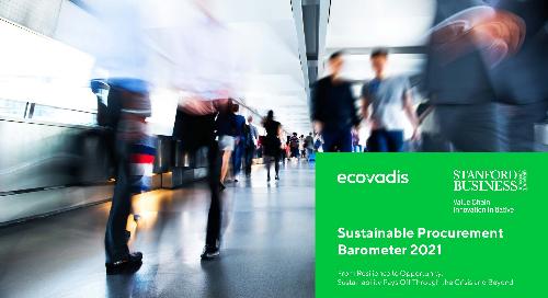 Sustainable Procurement Barometer 2021