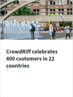 CrowdRiff celebrates 400 customers in 22 countries