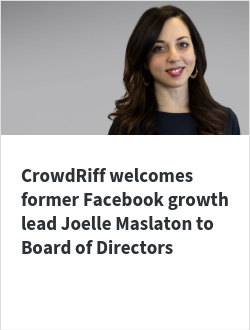 CrowdRiff welcomes former Facebook growth lead Joelle Maslaton to Board of Directors