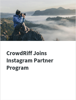 CrowdRiff Joins Instagram Partner Program
