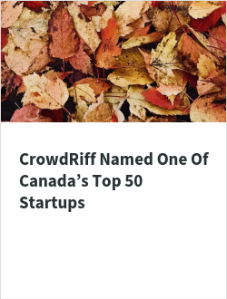 CrowdRiff Named One Of Canada's Top 50 Startups