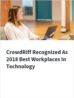 CrowdRiff Recognized As 2018 Best Workplaces In Technology