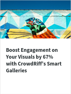 Boost Engagement on Your Visuals by 67% with CrowdRiff's Smart Galleries