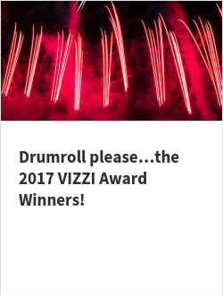 Drumroll please…the 2017 VIZZI Award Winners!