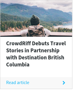 CrowdRiff Debuts Travel Stories in Partnership with Destination British Columbia