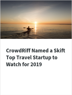 CrowdRiff Named a Skift Top Travel Startup to Watch for 2019