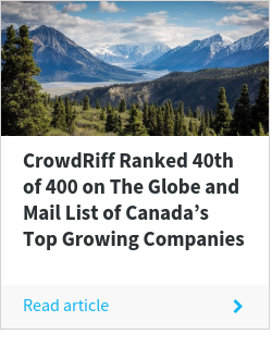 CrowdRiff Ranked 40th of 400 on The Globe and Mail List of Canada's Top Growing Companies
