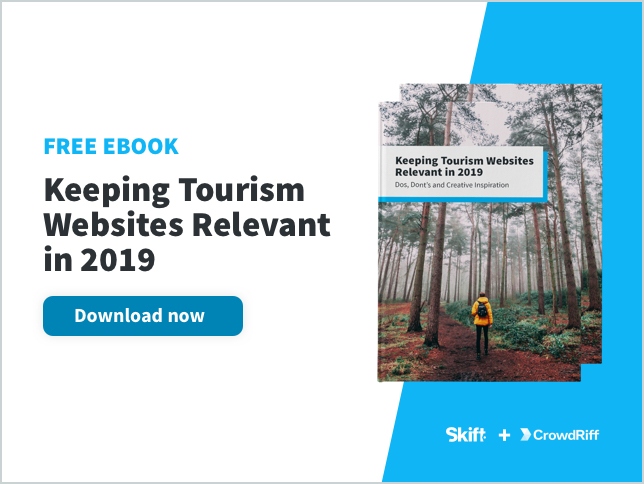 keeping tourism websites relevant