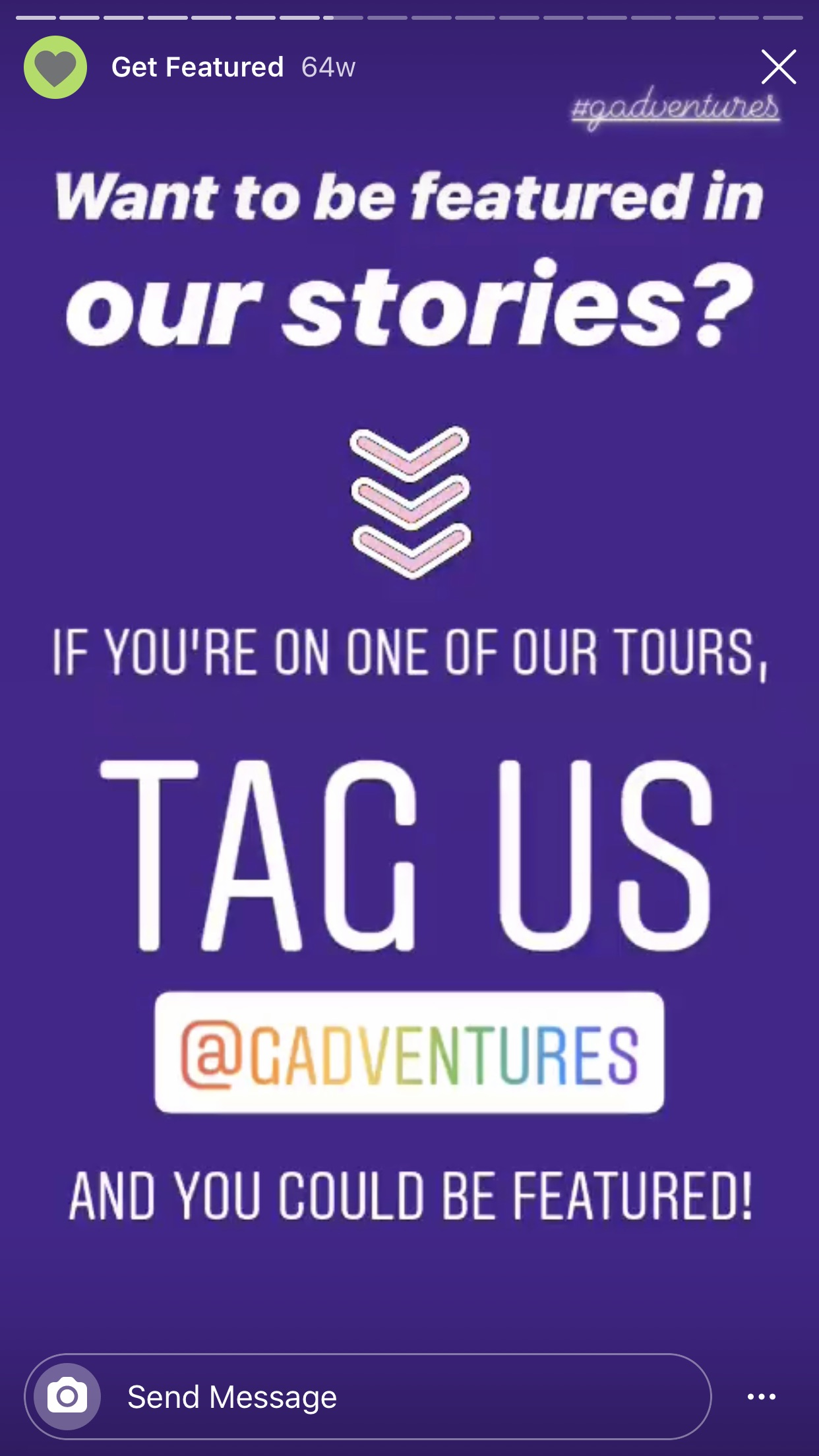 Feature submissions from your audience on Instagram Stories