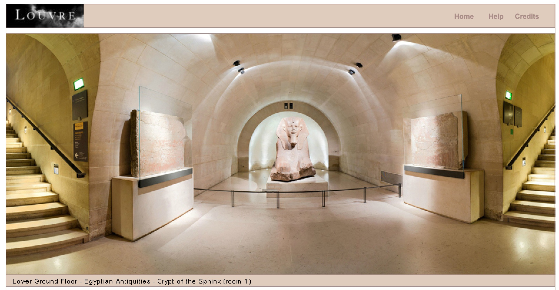 Take a virtual tour of the Louvre