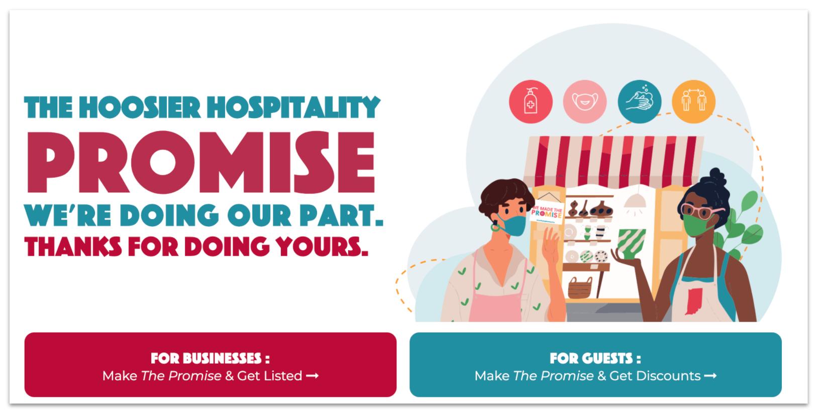 Visit Indiana hospitality promise