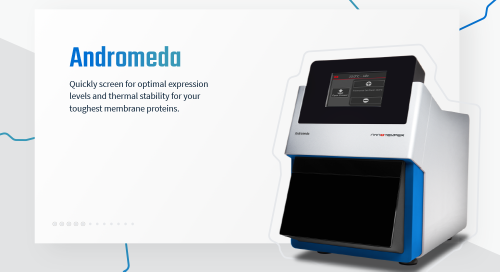 Quickly screen for optimal  expression levels and  thermal stability for your toughest membrane proteins