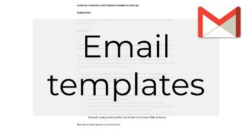 Invite Email Templates