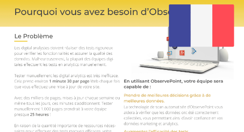 Why You Need ObservePoint (French)