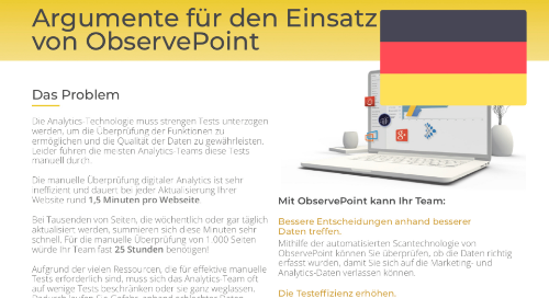 Why You Need ObservePoint (German)