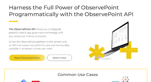 ObservePoint's API: Harness the Full Power of ObservePoint's Platform