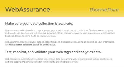 WebAssurance Product PDF