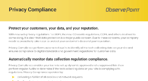Privacy Compliance Product PDF