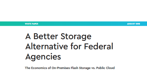 A Better Storage Alternative for Federal Agencies