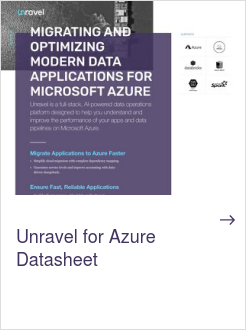 Unravel for Azure Datasheet