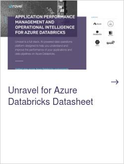 Unravel for Azure Databricks Datasheet