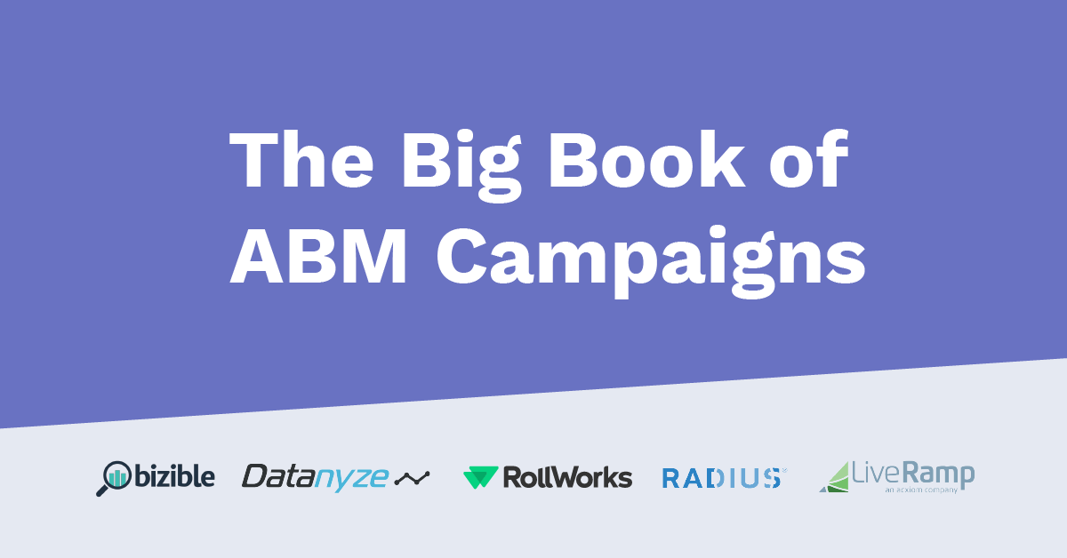 The Big Book of Account-Based Marketing Campaigns